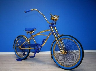 Swarovski Studded Bicycle