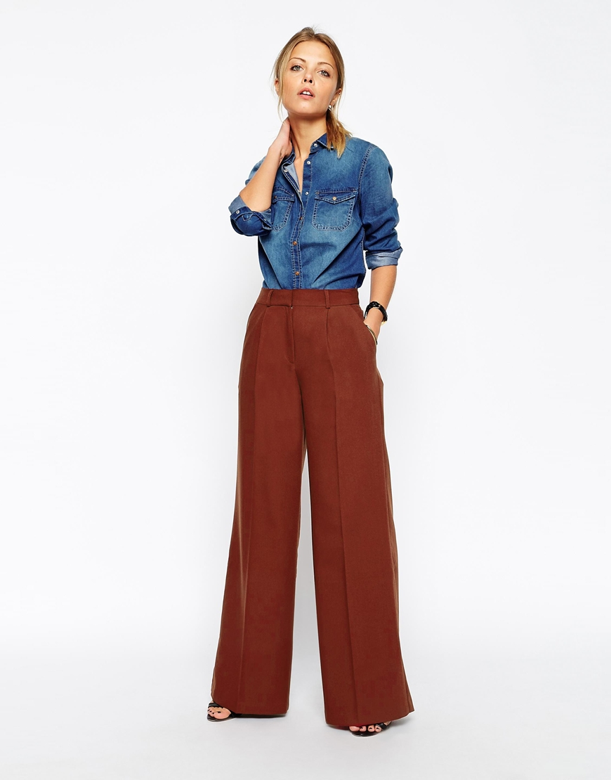 e Wide Leg Pants | Saphrona Nicol