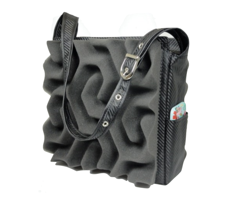 Phomaz acoustic foam luxury handbag