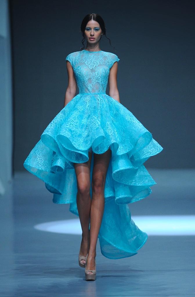 Фото красивых пышных платьев вечерних